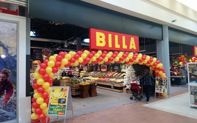 BILLA, Tulip shopping centre