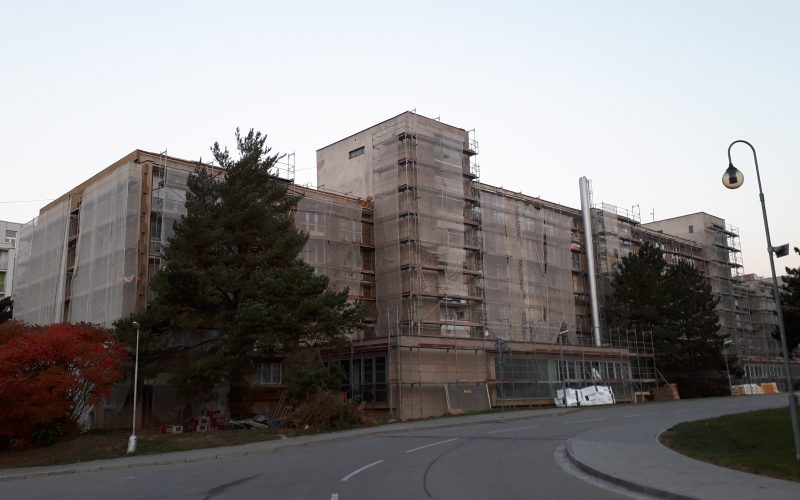 ENERGY INTENSITY REDUCTION OF THE AS – PO BUILDING: VYŠKOV