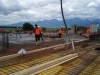 Betonáž stropnej dosky 1PP