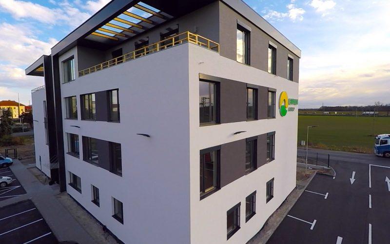 Leopoldov – Rekonštrukcia administratívnej budovy