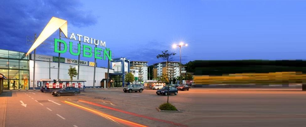 OC ATRIUM Dubeň – Hypermarket Carrefour, Žilina