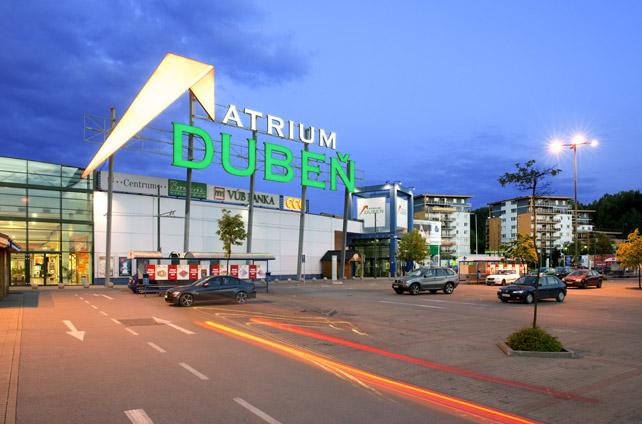 Shopping centre ATRIUM Dubeň – Hypermarket Carrefour, Žilina
