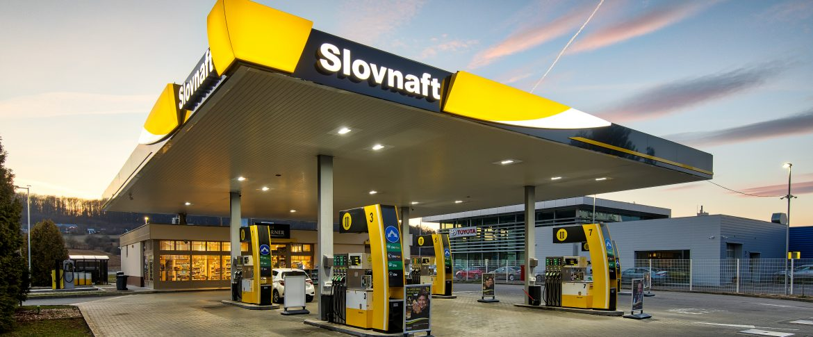 SLOVNAFT PETROL STATION RECONSTRUCTION ZVOLEN – FRESH CORNER