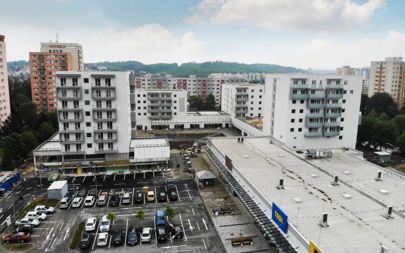 Bytový dom BC, D Rudiny II. v Žiline